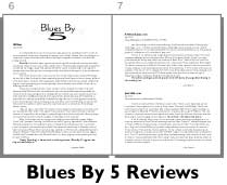 Blues By 5 Reviews